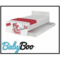 SKLADEM: Dětská postel MAX bez šuplíku Disney - MINNIE III 160x80 cm - 2x krátká