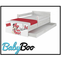 SKLADEM: Dětská postel MAX bez šuplíku Disney - MINNIE III 180x90 cm + 2x krátká bariérka