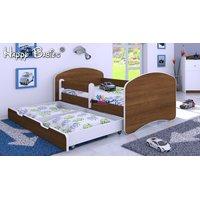 Dětská postel se šuplíkem 140x70 cm - OŘECH