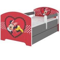 Dětská postel Disney - ZAMILOVANÁ MINNIE