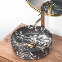 Keramické umyvadlo MAXMAX Rea SAMI APOGEO MARBLE - imitace mramoru