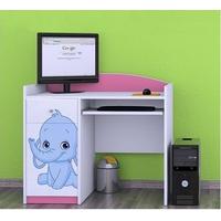 Dětský psací stůl SLONÍCI - TYP 9