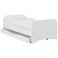 Dětská postel KIM - BEZ MOTIVU 140x70 cm + MATRACE