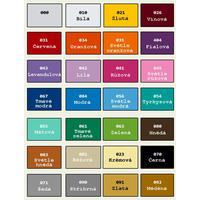 Samolepky na zeď ORNAMENTY color - vzor 6 - 080 hnědá