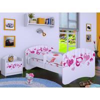 Dětská postel bez šuplíku 160x80cm FALL IN LOVE