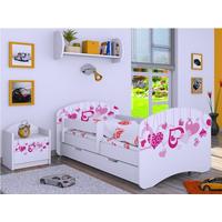Dětská postel se šuplíkem 160x80cm FALL IN LOVE