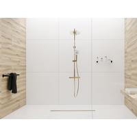 Sprchový žlab MAXMAX Rea NEO PRO SLIM - světle zlatý