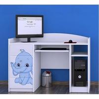 Dětský psací stůl SLONÍCI - TYP 2