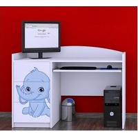 Dětský psací stůl SLONÍCI - TYP 5