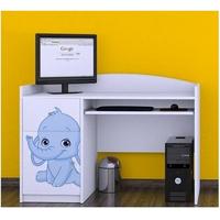 Dětský psací stůl SLONÍCI - TYP 6