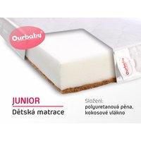 Matrace JUNIOR - 180x90 cm - kokos / molitan