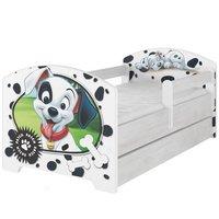 Dětská postel Disney - 101 DALMATINŮ 160x80 cm