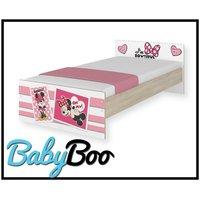 Dětská postel MAX Disney - MINNIE II 160x80 cm - BEZ ŠUPLÍKU