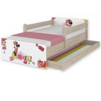 Dětská postel MAX Disney - MINNIE I 160x80 cm - SE ŠUPLÍKEM