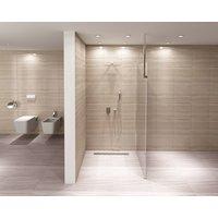 Koupelnová pevná zástěna AERO 90 cm
