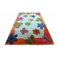 Dětský koberec Oranžoví motýli