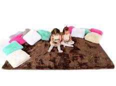Plyšový dětský koberec MOCCA