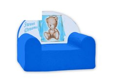 Dětské křesílko SWEET DREAMS - modré
