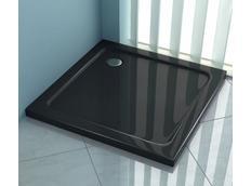 Sprchová vanička EGO black 80x80 cm