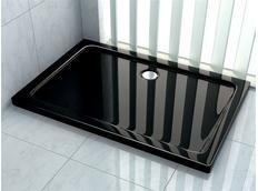Sprchová vanička ULTRA SLIM black 80x120 cm