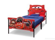Dětská plastová 3D postel Disney - AUTA 190x100 cm