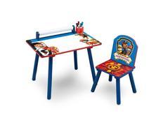 Dětský kreslící stůl s židličkou TLAPKOVÁ PATROLA