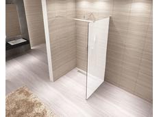 Koupelnová pevná zástěna AERO 80 cm MAT