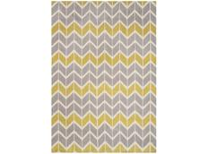 Koberec Asiatic Fashion Floors - ARLO AR06 Chevron Lemon/Grey