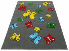 Dětský koberec BUTTERFLY grey