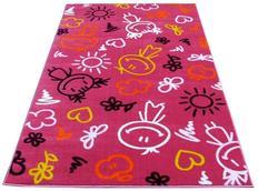 Dětský koberec SMILE pink