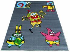 Dětský koberec SPONGEBOB grey