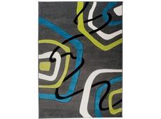 Moderní kusový koberec MATRA antracitový 3465A