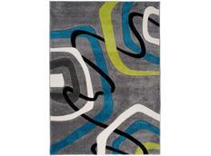 Moderní kusový koberec MATRA šedý 3465A