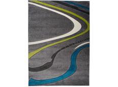 Moderní kusový koberec MATRA šedý 3488A