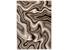 Moderní kusový koberec MATRA béžový C301B