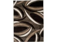 Moderní kusový koberec MATRA hnědý C804A
