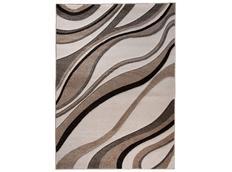 Moderní kusový koberec MATRA krémový K321A