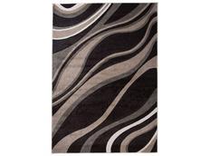 Moderní kusový koberec MATRA tmavě hnědý K321A