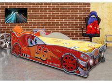 Dětská autopostel CARS 1 160x80 cm s MATRACÍ ZDARMA