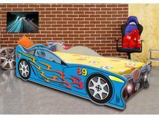 Dětská autopostel SPEED 160x80 cm s MATRACÍ ZDARMA