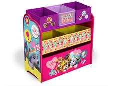 Dětská komoda na hračky TLAPKOVÁ PATROLA PINK