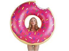 Nafukovací plavací kruh DONUT - růžový