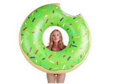 Nafukovací plavací kruh DONUT - zelený