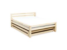 Designová postel DOUBLE bez šuplíku