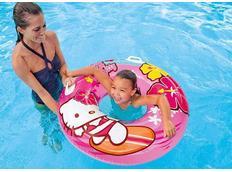 Nafukovací plavací kruh HELLO KITTY