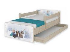 Dětská postel MAX Disney - FROZEN 160x80 cm - SE ŠUPLÍKEM
