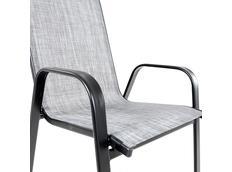 Zahradní židle PAOLO grey melange