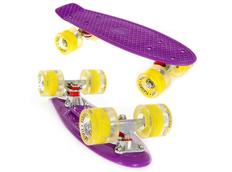 Pennyboard FISH F5 LED violet