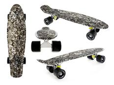 Pennyboard FISH F6 black wave