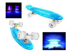 Pennyboard FISH F7 FULL LED 56 cm blue